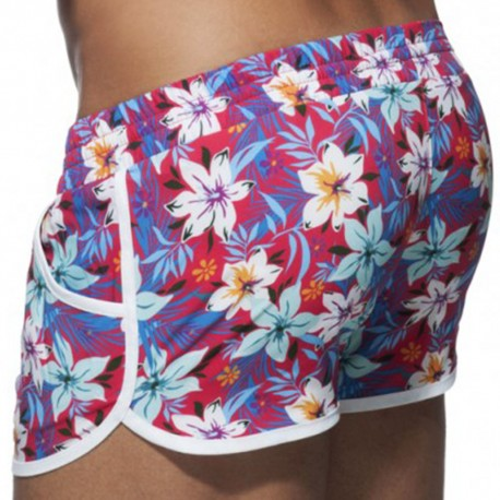 Short de Bain Hawaiian Rouge