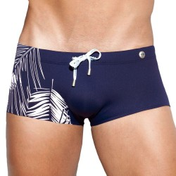 ES Collection Dennis Jungle Swim Boxer - Navy