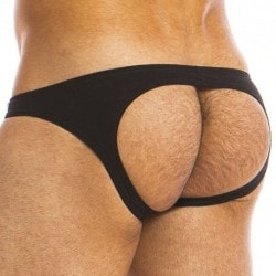 Eggs Bottomless Brief - Black