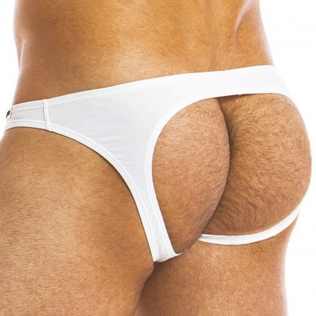 Modus Vivendi Eggs Bottomless Brief - White