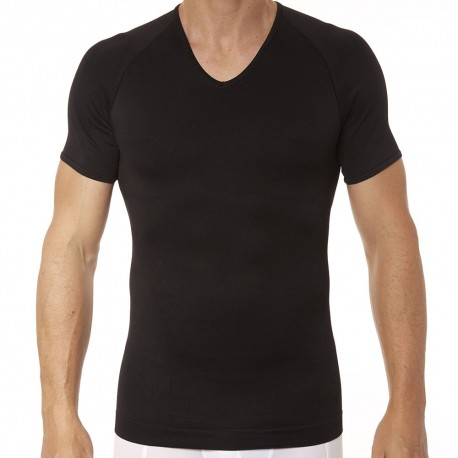 Spanx T-Shirt Zoned Performance Col V Noir