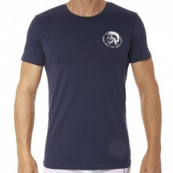 Diesel 3-Pack All-Timers Mohawk T-Shirts - White - Navy - Black