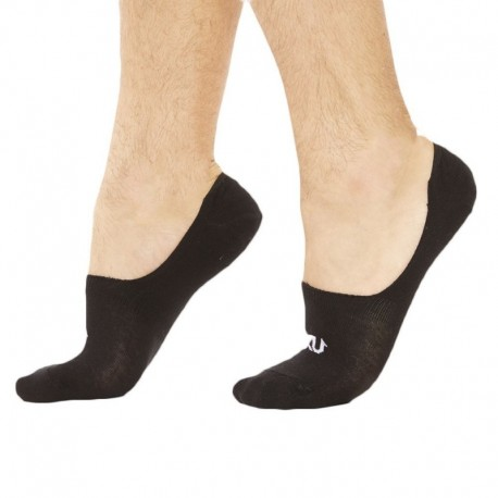 SKU 3-Pack Invisible Socks - Black