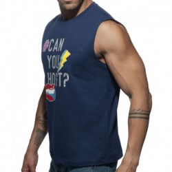 Addicted CAN Tank Top - Navy