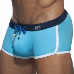 Addicted Shorty de Bain Uni Turquoise