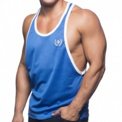 Soccer Mesh Tank Top - Royal