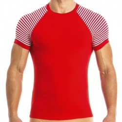 Marine T-Shirt - Red