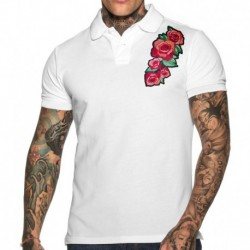 Polo Roses Blanc