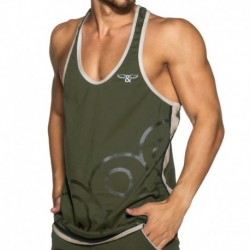 Wings Tank Top - Khaki