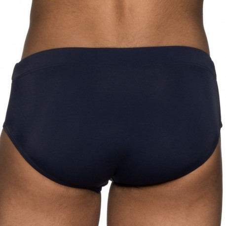 ELIU Classic Fitness Swim Brief - Navy