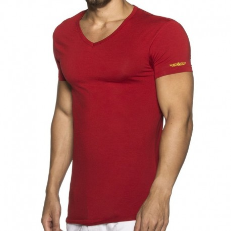 ELIU T-Shirt Basic Rouge