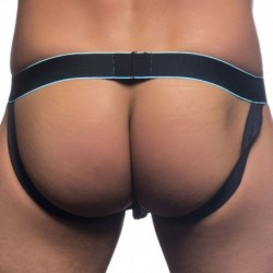 Andrew Christian Massive Sheer Sparkle Jock - Black