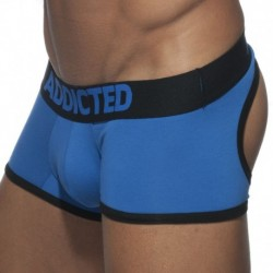 Addicted Shorty Empty Bottom Basic Colors Royal - Noir