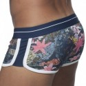 ES Collection Double Side Flower Boxer - Navy