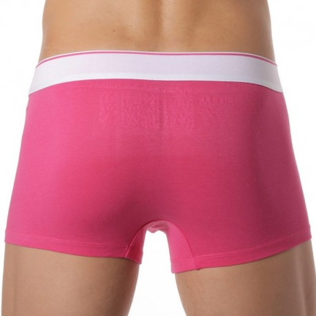 Lot de 3 Boxers Fresh & Bright Rose - Bleu - Vert
