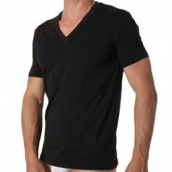 DSQUARED2 T-Shirt Col V Noir