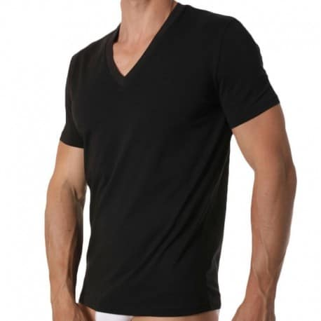 DSQUARED2 2-Pack V-Neck T-Shirts - Black