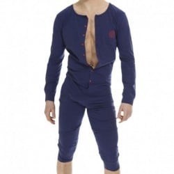 L'Homme invisible Hypnos Long Bodysuit - Navy