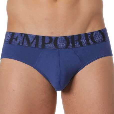 Emporio Armani Big Eagle Brief - Royal