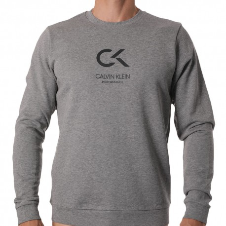 Sweat-Shirt Logo CK Performance Gris