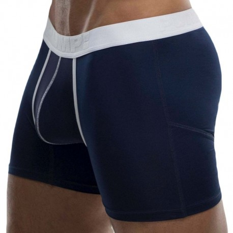 Pump! Sailor Cooldown Boxer - Navy - White