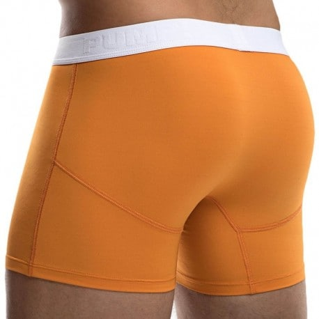 Pump! Creamsicle Cooldown Boxer - Orange - White