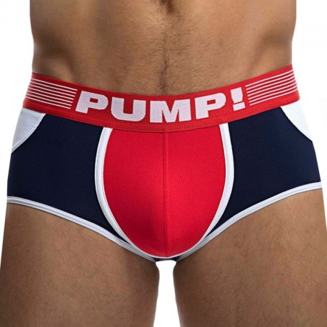 Pump! Academy Access Bottomless Boxer - Navy- Red
