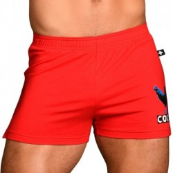 Andrew Christian Cock Retro Short - Red