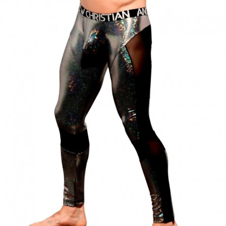 Andrew Christian Legging Almost Naked Disco Argent