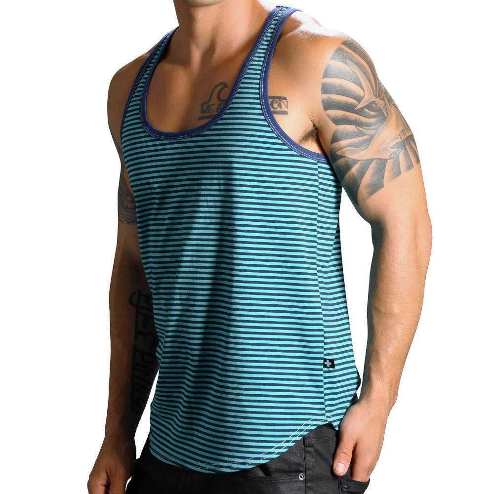 369a9a14ac8f Andrew Christian Madison Stripe Tank Top