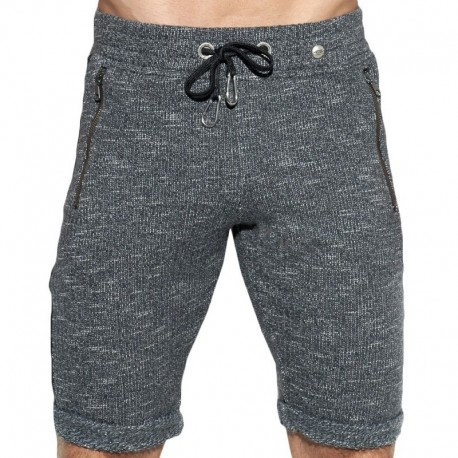 ES Collection Dystopia Retro Short - Grey - Black