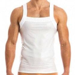 Modus Vivendi High Tech Tank Top - White