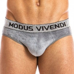 Modus Vivendi X-Lux Bottomless Brief - Grey