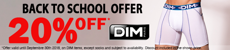 DIM back to school special offer