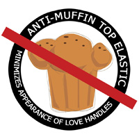 Anti Muffin Débardeur Disco Marine
